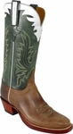 Mens Lucchese Classics Buck Oil Calf Leather Custom Hand-Made Boots L1590