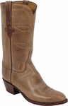 Mens Lucchese Classics Buckskin Oil Calf Leather Custom Hand-Made Boots L1564
