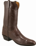 Mens Lucchese Classics Chocolate Calf McKay Sole Custom Hand-Made Leather Boots L1531