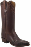 Mens Lucchese Classics Chocolate Glove Calf Custom Hand-Made Cowboy Boots L1608
