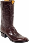Mens Lucchese Classics Chocolate Kangaroo Leather Custom Hand-Made Boots L1503