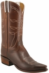 Mens Lucchese Classics Chocolate Oil Calf Custom Hand-Made Leather Boots L1625