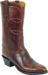 Mens Lucchese Classics Chocolate Oil Calf Leather Custom Hand-Made Boots L1541