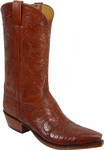 Mens Lucchese Classics Hand Tooled Leather Custom Hand-Made Cowboy Boots L1596