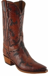Mens Lucchese Classics Hand Tooled Leather Custom Hand-Made Cowboy Boots L1606