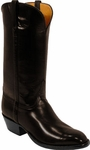 Mens Lucchese Classics Madison Avenue Chocolate European Calf Leather Custom Hand-Made Boots L1529