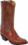 Mens Lucchese Classics Peanut Brittle Lizard Custom Hand-Made Boots L1210