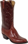 Mens Lucchese Classics Peanut Brittle Lizard Custom Hand-Made Boots L1218