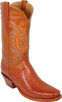 Mens Lucchese Classics Peanut Brittle Lizard Custom Hand-Made Cowboy Boots L1287