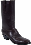 Mens Lucchese Classics Regal Chocolate European Calf Leather Custom Hand-Made Boots L1526