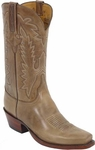 Mens Lucchese Classics Rio Bravo Buckskin Oil Calf Leather Custom Hand-Made Boots L1566