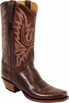 Mens Lucchese Classics Rio Bravo Chocolate Oil Calf Leather Custom Hand-Made Boots L1569
