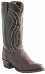 "Lucchese Men's ""Montana"" Sienna Full Quill Ostrich Cowboy Boots M1607"