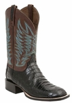 Mens Lucchese Since 1883 Black Caiman Belly Tail Boot - Logan M2666
