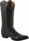 Store Special Size 11.5 Lucchese Since 1883 Ranch Mens Black Oiled Calf Cowboy Boots M3076