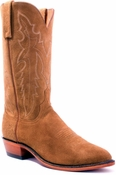 Store Special Size 11.5 Mens Lucchese Camel Rough Out Leather Boots N7297