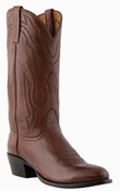 "Store Special Size 11.5 Lucchese Men's ""Carson"" Antique Walnut Lonestar Calf Cowboy Boots M1022"
