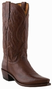 "Store Special Size 11.5 Mens Lucchese Since 1883 Western with ""Perez"" Cord Design Tan Ranch Hand M1004<Font color=""Red""> D&EE</Font>"