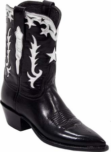 Womens Vintage Collection Lucchese Classics Star Inlay Custom Hand-Made Boots L7012