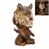 10015815 Spirit Of The Wolf Bust