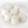 UNSCENTED MINI PILLAR CANDLES
