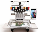 Brother Entrepreneur Pro PR1000e 10-Needle Home Embroidery Machine.