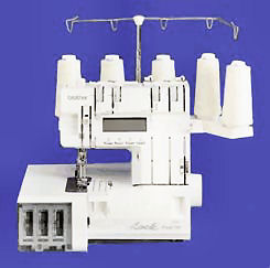 Brother PL2100 5 Thread Computer Serger