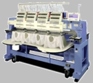 Happy HCR-1504 4-Head 15-Needle Embroidery Machine