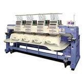 Happy HCR-1504-X 4-Head 15-Needle Stretched Embroidery Machine