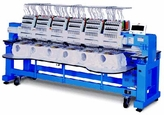 Happy HCR-1506 6-Head 15-Needle Embroidery Machine