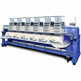 Happy HCR-1506-X 6-Head 15-Needle Stretched Embroidery Machine