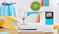 Sewing Machine Opal 670-2013 Husqvarna Viking-AceSewVac.com