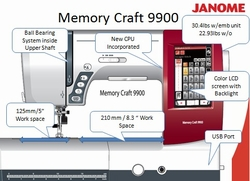 Memory Craft MC9900-2013 Janome-AceSewVac.com