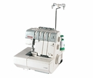 JANOME Serger 1110DX 2/3/4 ThreadsBuilt-in Rolled Hem, Differential Feed, Lay-in TensionsBuy the Serger and recieve a Bonus packege of FREE Thread