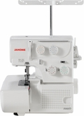 Janome Serger 8002D Econo Line 4 and 3 Threads and Rolled Hem.