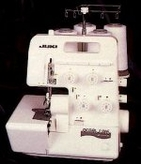 Juki MO654DE 4/3/2 Thread Serger with Differential Feed and Rolled Hem