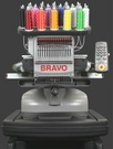 Melco Amaya Bravo Single Head 16 Needle Professional Embroidery Machine Package