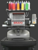 Melco Amaya Bravo Single Head 16 Needle Professional Embroidery Machine w/software