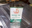 Recommended Defrix Oil for all Juki