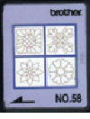 SA358 Brother No.58 Quilting Designs