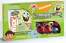 SANPKG1 Nickelodeon Spongebob CD with 23 spools of specially selected Nickelodeon thread colors
