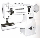 Seiko LCW-28BL High Speed Cylinder Bed Two Needle Lockstitch MachineMADE IN JAPAN
