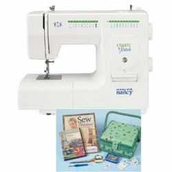 Sewing With Nancy Create 'n Stitch Sewing Machine with FREE Starter Pack