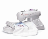 Singer CE 150 Futura Sewing and Embroidery Machine Free DVD Included! (Factory Serviced)