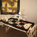 Tin Lizzie18 inch DLS Long Arm Quilting Machine.