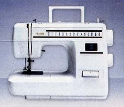 Yamata FY900 Auto 1 Step Buttonhole 21 Stitch Pattern Sewing Machine.