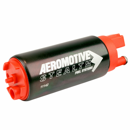 Aeromotive 340 Series Stealth In-Tank Fuel Pump, Offest Inlet - inlet inline w/ outlet