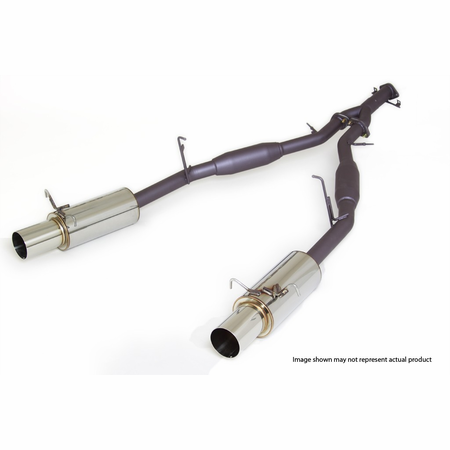 APEXi N1-Dual Muffler Exhaust System, 1992-2002 Mazda RX-7 (FD3S)