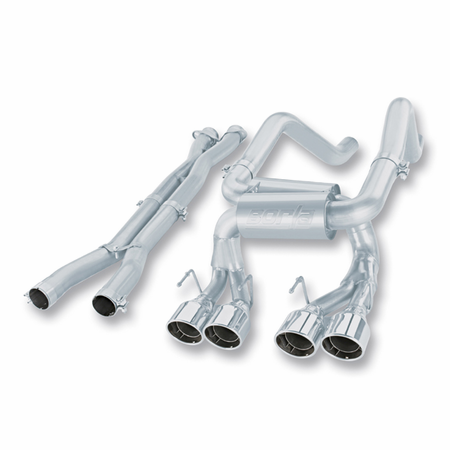 Borla C6 Corvette Z06/ C6 Corvette ZR1 2006-2011 Cat-Back Exhaust S-Type Classic part # 140191