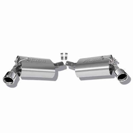 Borla Camaro v6 (except 2013 quad-tip RS) 2010-2013 Rear Section Exhaust part # 11776